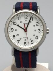 クォーツ腕時計/アナログ/WHT/T2N747