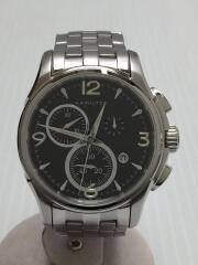 クォーツ腕時計/アナログ/ステンレス/BLK/H326120/ジャズマスター