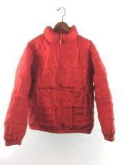 bonded logo puffy jacket/19SS/ダウンジャケット/M/ポリエステル/RED