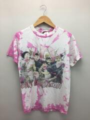 USED/バンドTEE/ONE DIRECTION/タイダイ/Tシャツ/S/コットン/PNK