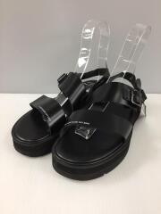 foot the coacher/SS BELT SANDALS GLOXI/サンダル/26.5cm/BLK/レザー