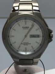クォーツ腕時計/アナログ/チタン/SLV/SLV/LIN-171J