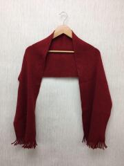マフラー/ウール/RED