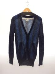 COMBED OUT STRIPE MOHAIR CARDIGAN/カーディガン/0/ウール/NVY
