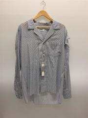 シャツ/XL/コットン/ストライプ