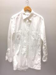 2019SS/HH-B03-001/後ろあき環縫いシャツ/長袖シャツ/3/コットン/WHT