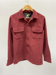 ウールリッチ別注/オープンカラーシャツ/長袖シャツ/M/ウール/BRD