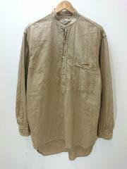 20SS/ベタシャンプルオーバーシャツ/R01-02004/長袖シャツ/1/コットン/ベージュ