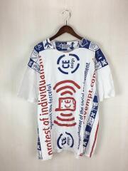 INDIVIDUALISM BIG T/Tシャツ/XL/コットン/WHT