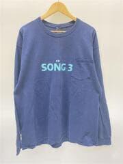 2018SS/S Pocket T-shirt - Song3/長袖Tシャツ/--/コットン/NVY