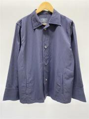 シャツジャケット/YC-J14-100/長袖シャツ/4/レーヨン/NVY
