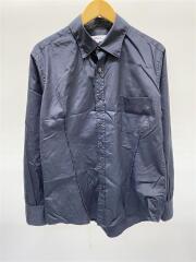 2020MODEL/stand collar SH/SL-B01-001/長袖シャツ/S/コットン/BLK