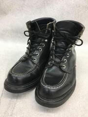 SUPER SOLE/ブーツ/US7.5/BLK/レザー