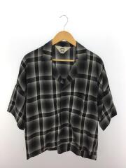 19SS/SHADOW CHECK FRIED SHRIMP SHIRT/シャツ/2/レーヨン/マルチカラー