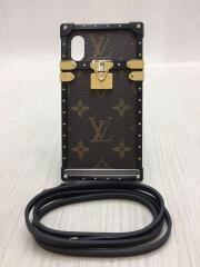 外箱・保存袋・ショルダー付/アイ・トランク ライト/iPhone X&XS用/PVC/モノグラム