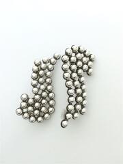 イヤリング/Ball ear cuff/シルバー