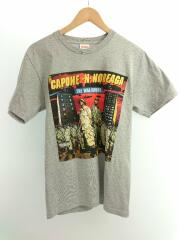 The War Report Tee/CAPONE-N-NOREAGA/16AW/S/コットン/GRY