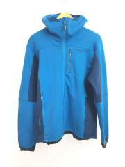 lyngen warm2flex Jacket/3160-12/L/ポリエステル/BLU