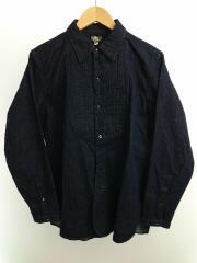 8oz Indigo Denim Deita Shirt/長袖シャツ/40/コットン/IDG/無地