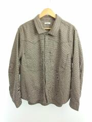 Saby/COWBOY SHIRTS HoundstoothCheck/20A-031204/2/ポリエステル/BRW