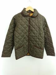 キルティングジャケット/WA-AW02/36/ポリエステル/カーキ/イギリス製