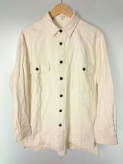 ネルシャツ/FREE/コットン/アイボリー/オーバーシャツ/マウジー