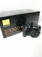 デジタル一眼カメラ D3300 ダブルズームキット2 [ブラック]/一眼レフ/レンズ/写真/