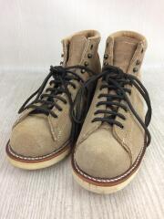 ブーツ/US8/BEG/スウェード/CHIPPEWA/チペワ/レザー/革靴/アメカジ/靴/シューズ/