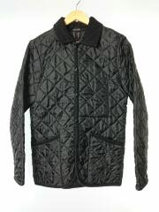 キルティングジャケット/3/ポリエステル/ブラック/LAVENHAM/ラヴェンハム/M0163FJM121