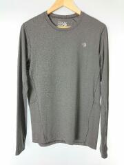 長袖Tシャツ/M/GRY/グレー/Mountain Hardwear/マウンテンハードウェア/アウトドア