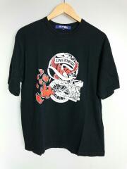 Tシャツ/M/コットン/BLK/プリント/JUNYA WATANABE/ジュンヤワタナベ/コムデギャルソ