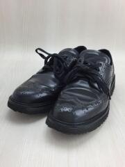 ドレスシューズ/3E5300/37.5/BLK/PVC