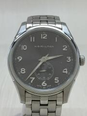 H384110/ジャズマスター/クォーツ腕時計/アナログ/ステンレス/SLV/SLV