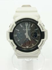 ソーラー腕時計・G-SHOCK/GAW-100B-7AJF/デジアナ/ラバー/BLK/WHT