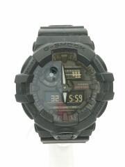 クォーツ腕時計・G-SHOCK/GA-735A-1AJR/デジアナ/ラバー/BLK/BLK/箱有