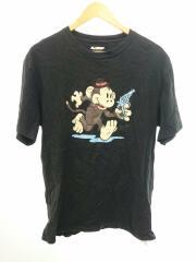 Tシャツ/L/コットン/BLK/無地/01174104/RUNING KEITH