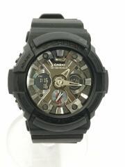 G-SHOCK/GA-201-1AJF/腕時計/デジアナ/ステンレス/SLV/BLK