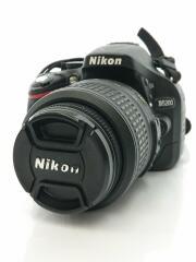 デジタル一眼カメラ D5200 18-55 VR レンズキット [ブラック]