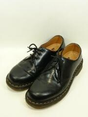 3ホール/GV04R/ブーツ/UK8/BLK/レザー