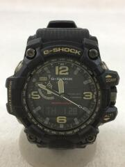 CASIO/ソーラー腕時計・G-SHOCK/デジアナ/BLK/BLK