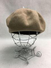 ベレー帽/FREE/ウール/BEG/無地/Gloria Cordes