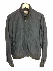 978刺繍/ブルゾン/M/ナイロン/ブラック/ジャケット