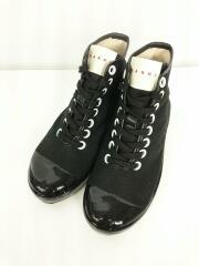 ハイカットスニーカー/high top sneaker/ブラック