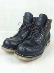 8179/6inch CLASSIC MOC TOE/クラシックモックトゥ/ブーツ/26.5cm/ブラック/レザー