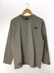 20AW/タグ付/NT82032/L/S Tested Proven Tee/長袖Tシャツ/L/グレー