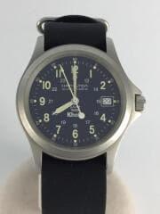 9823/KHAKI KING AUTOMATIC/カーキキング/自動巻腕時計/ラバー/ネイビー