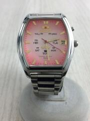 自動巻腕時計/EMAV-C1/アナログ/ステンレス/PNK