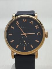 クォーツ腕時計/アナログ/レザー/NVY/MBM1329/ネイビー/紺/デザイナーズ/ウォッチ