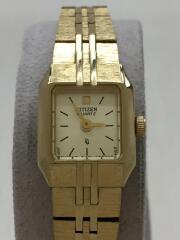 クォーツ腕時計/アナログ/GLD/5421-S18531/ウォッチ/