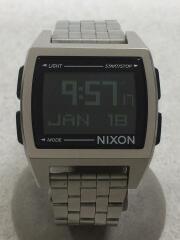 クォーツ腕時計/デジタル/BLK/SLV/シルバー/ブラック/黒